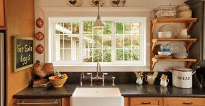 custom kitchen windows